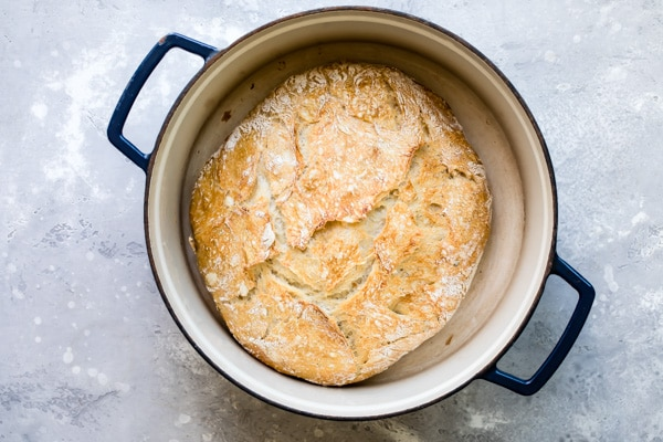 A No Knead Bread recipe like this one means that you can up and move anywhere in the world and still have the most delicious loaf of bread.