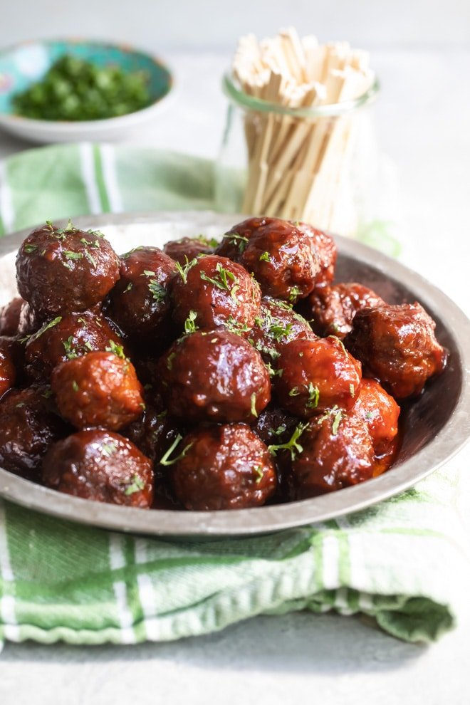 Crockpot Meatballs With Grape Jelly Sauce Culinary Hill