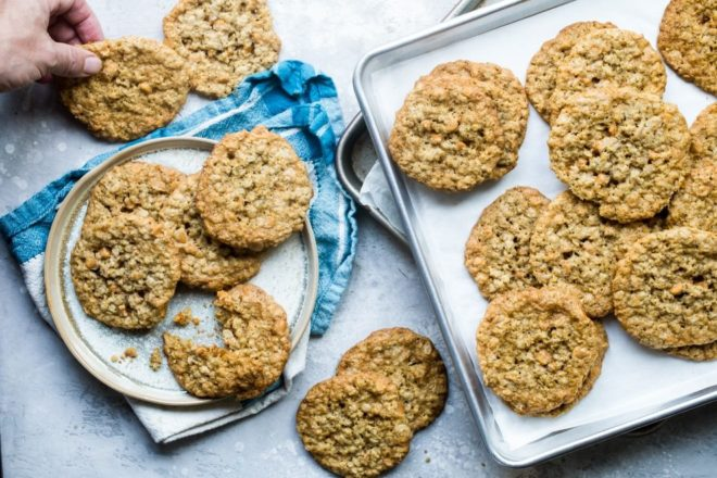 Cheer absolutely anyone up with a batch of homemade Oatmeal Scotchies, quite possibly the most perfect cookie, ever. This butterscotch oatmeal cookie recipe is easy to make, hard to resist, and impossible not to love.
