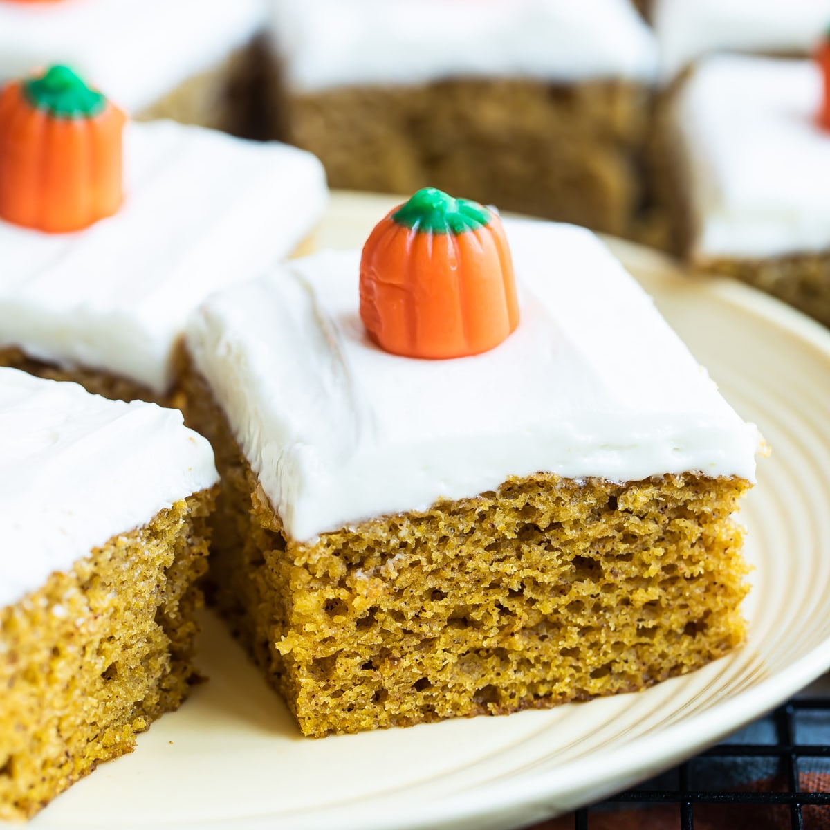 Pumpkin Bars With Cream Cheese Frosting Culinary Hill