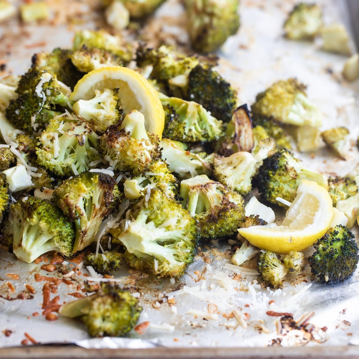 Roasted Broccoli With Lemon And Parmesan Culinary Hill