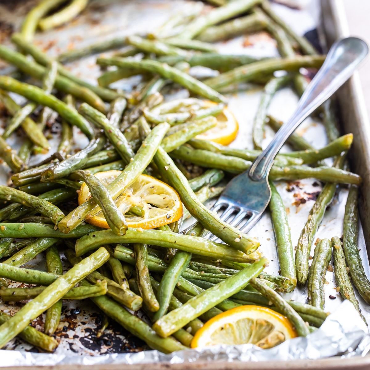 Roasted Green Beans Culinary Hill