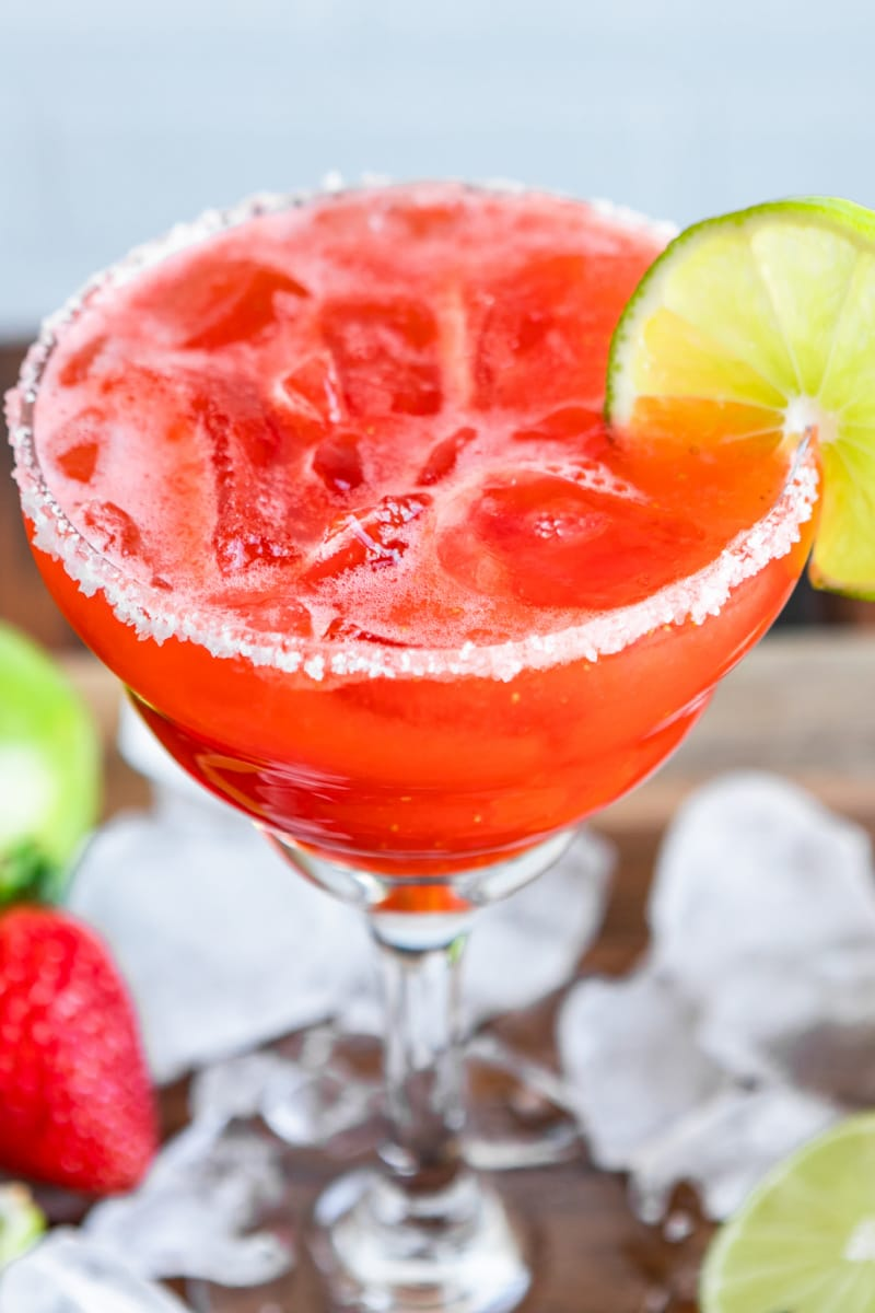 Strawberry Margarita Culinary Hill