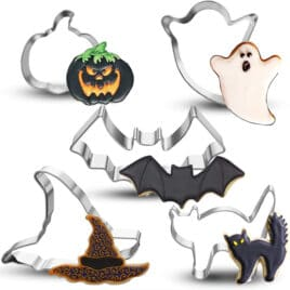 Halloween cookie cutters.